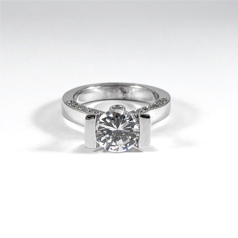 Engagement Ring  by Frank Reubel