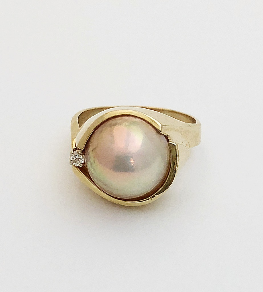 3605c3109 Ring 001-300-00051 | Pearl Rings from Lumina Gem | Wilmington, NC