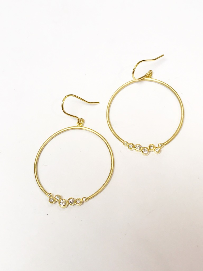 Earrings by Tony Maccabi