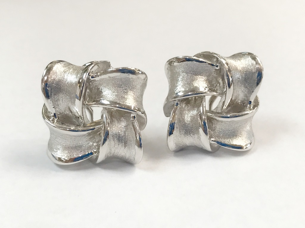 Earrings by Raymond Mazza